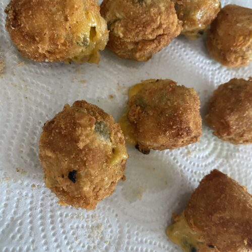 Vegane Chili Cheese Nuggets